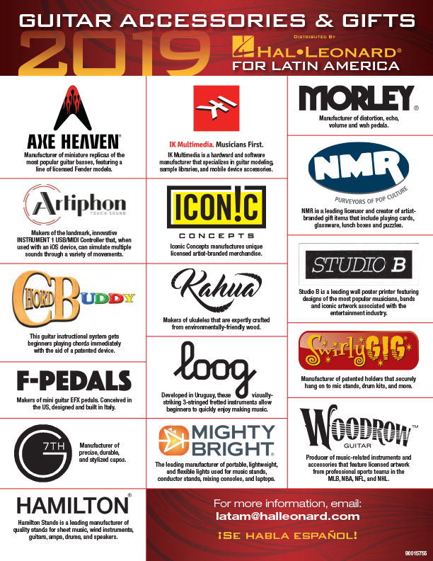 Guitar Accessories & Gifts Distribution (PDF)