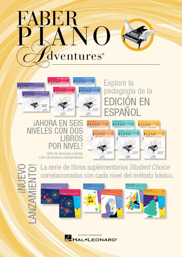 Faber Piano Adventures Edicion en Espanol